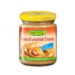 Crema di arachidi Crunchy con sale e arachidi in pezzi Rapunzel