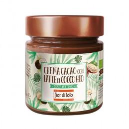 Crema al cacao con latte di cocco Fior di Loto