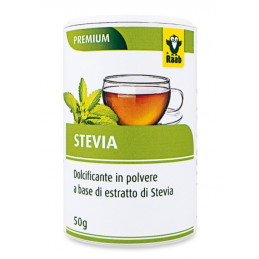 Dolcificante a base di estratto di stevia in polvere