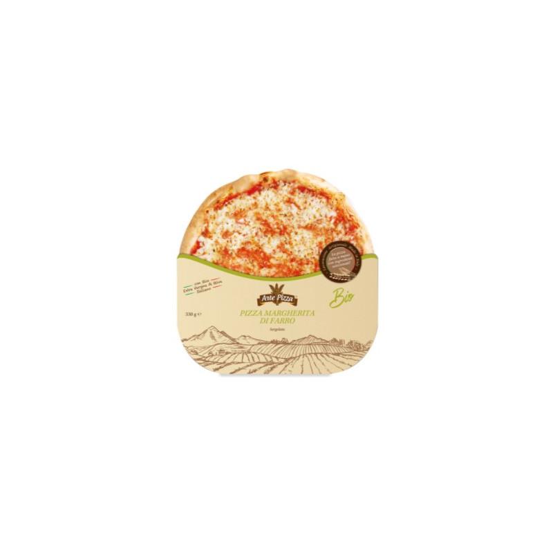 Pizza margherita di farro